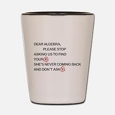 Cute Dear Algebra Shot Glass