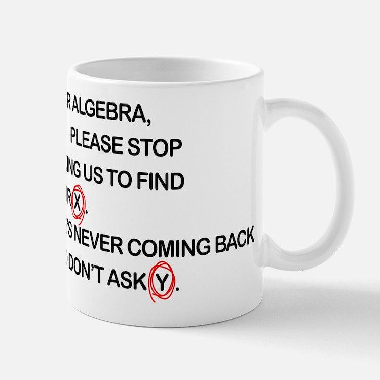 Cute Dear Algebra Mugs