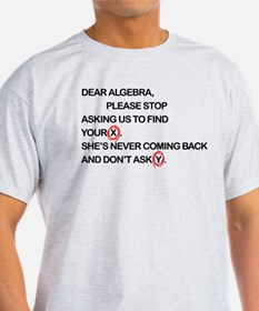 Cute Dear Algebra T-Shirt