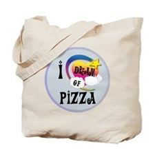 I Dream of Pizza Tote Bag