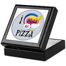 I Dream of Pizza Keepsake Box