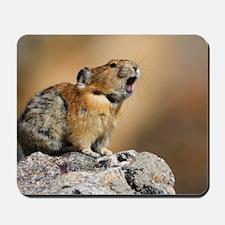 Pika Howling Mousepad