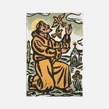 St. Francis Rectangle Magnet