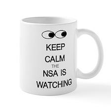 Keep Calm The NSA Is Watching Mugs