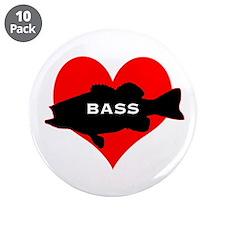 """Love Bass 3.5"""" Button (10 pack)"""