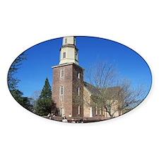 BRUTON PARISH CHURCH COLONIAL WILLI Decal