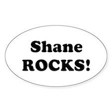 Shane Rocks! Oval Decal