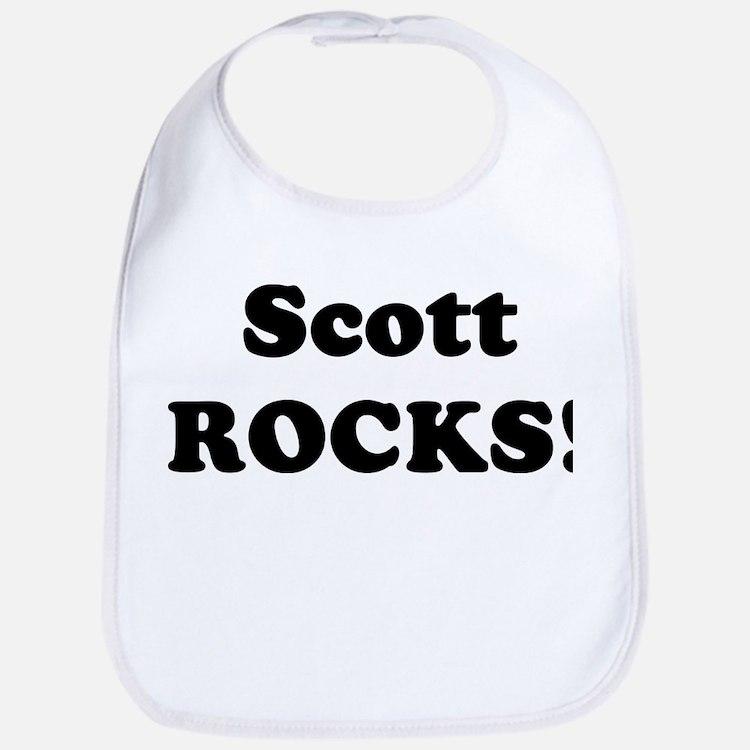 Scott Rocks! Bib