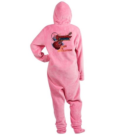 Join the Revolution Footed Pajamas
