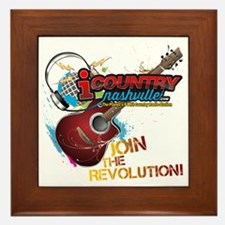Join the Revolution Framed Tile