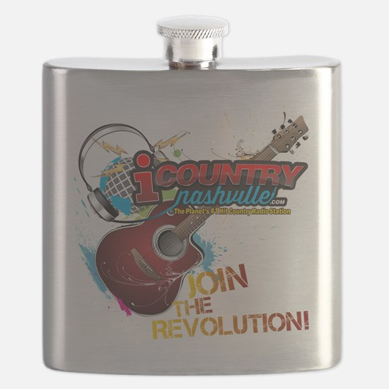 Join the Revolution Flask