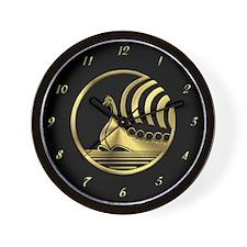 Norseman Black Wall Clock
