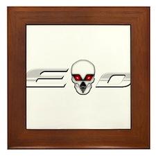 Evo Skull Framed Tile
