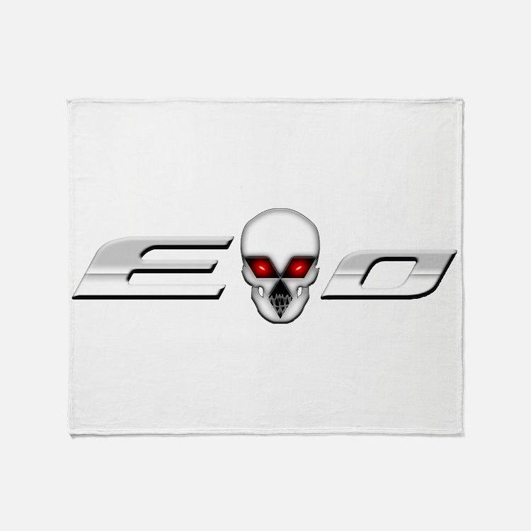Evo Skull Throw Blanket