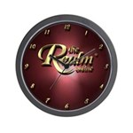 Realm Logo Wall Clock Red
