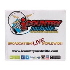 iCountryNashville.com Listen Live! Throw Blanket