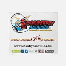 iCountryNashville.com Listen Live! Throw Blanket