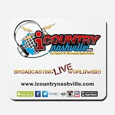 iCountryNashville.com Listen Live! Mousepad