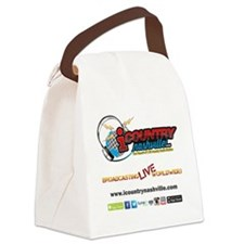 iCountryNashville.com Listen Live Canvas Lunch Bag