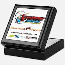 iCountryNashville.com Listen Live! Keepsake Box