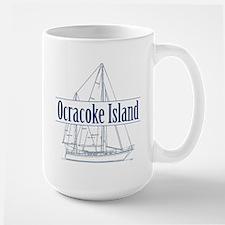 Ocracoke Island - Large Mug