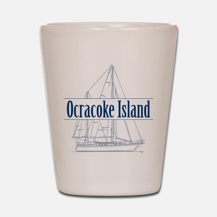 Ocracoke Island - Shot Glass