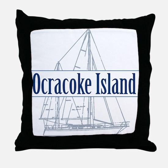 Ocracoke Island - Throw Pillow