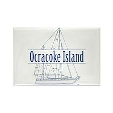 Ocracoke Island - Rectangle Magnet