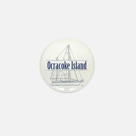 Ocracoke Island - Mini Button