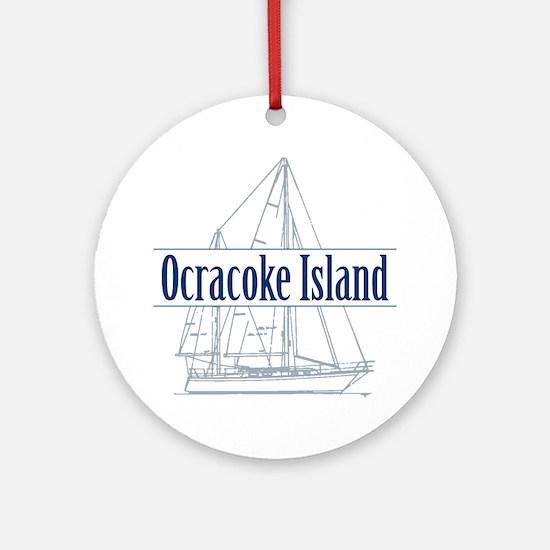 Ocracoke Island - Ornament (Round)