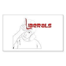 Liberals Decal