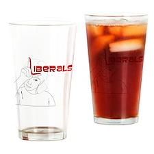 Liberals Drinking Glass