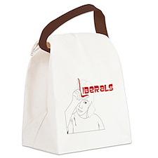 Liberals Canvas Lunch Bag