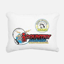 Dixie Crystal Retro Dist Rectangular Canvas Pillow