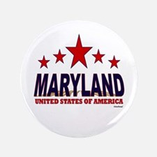 """Maryland U.S.A. 3.5"""" Button (100 pack)"""