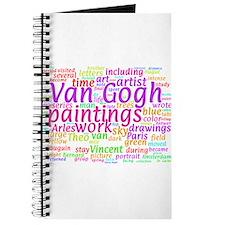 Van Gogh Concept Cloud Journal