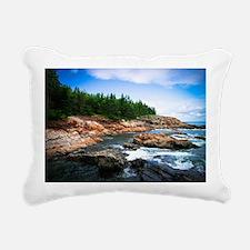 Acadia National Park Rectangular Canvas Pillow