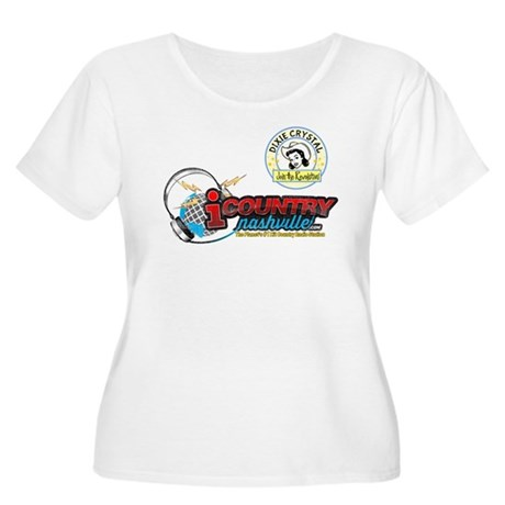Dixie Crystal Retro Distressed Plus Size T-Shirt