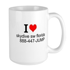 Skydive SW FloridaTShirt Front Mugs