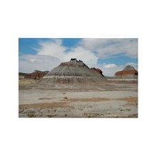 Hills of the Painted Desert Rectangle Magnet