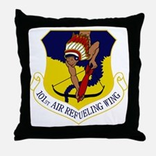 101st ARW Throw Pillow
