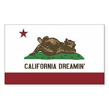 California Dreamin Decal