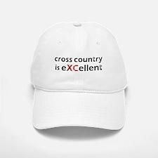 Cross Country eXCellent Baseball Baseball Cap