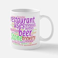 Concept Cloud for Stone Brewery Escondido Mugs