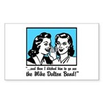 Retro MDB Comic Rectangle Sticker