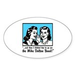 Retro MDB Comic Oval Sticker