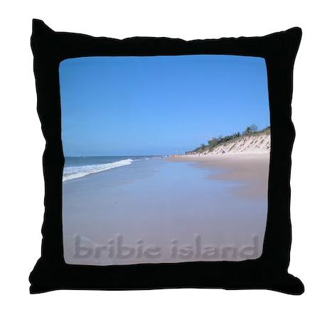 Bribie Island Throw Pillow