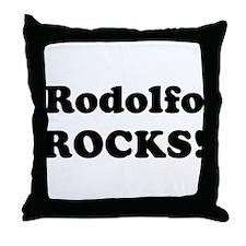 Rodolfo Rocks! Throw Pillow