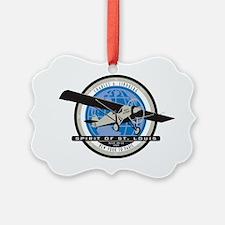 Charles Lindberg Spirit of St. Lo Ornament