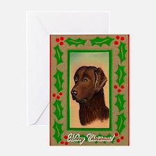 Chesapeake Bay Retriever Christmas Greeting Cards